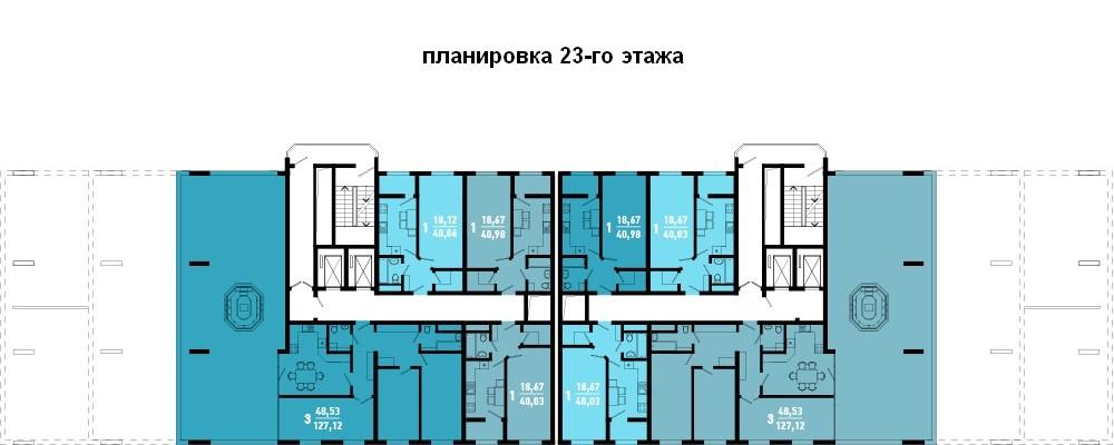этаж 23